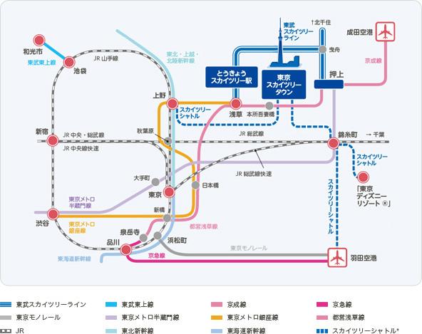 路線図から探す | 路線図・駅情報 | 東武鉄道