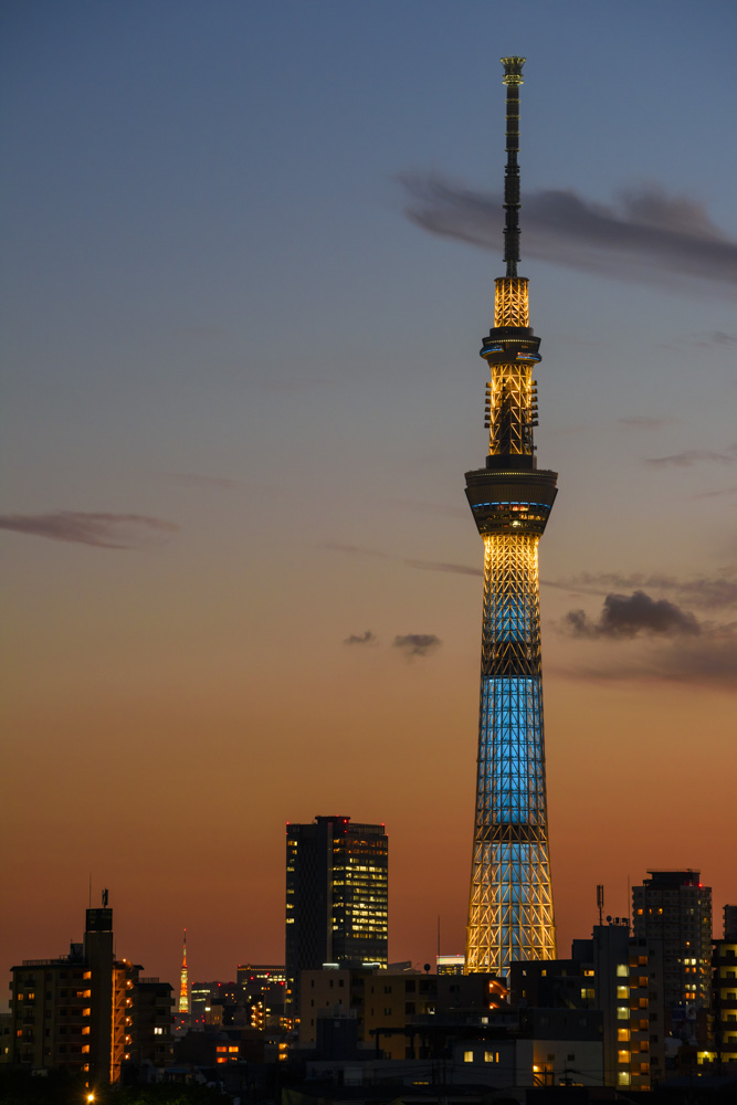 Tokyo Skytree 174 Night View An Invitation To The Night