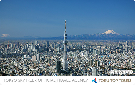 The TOKYO SKYTREE® official travel agency helps you get the most out of your trip to TOKYO SKYTREE