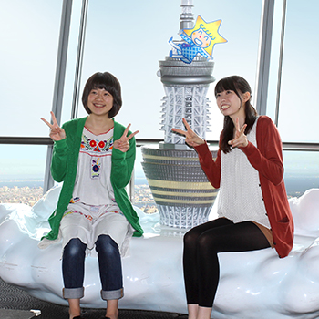 Take a photo to remember your trip to TOKYO SKYTREE